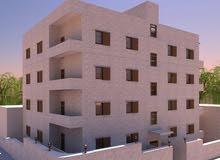 شقة بمنطقة مميزة و حيوية في طبربور -قرب دوار الدبابة و بجانب حديقة الرخاء مساحات 145 مــتر