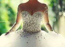 بدلة عروس جديدة للبيع