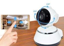 كاميرا مراقبة ذكية متحركة صوت وصورة ومكروفون