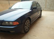 Blue BMW 523 2001 for sale