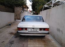 Manual White Mercedes Benz 1980 for sale