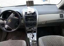Used condition Toyota Corolla 2009 with 180,000 - 189,999 km mileage