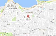 أرض 534م طرابلس قصربن غشير محلة بئرالتوتة