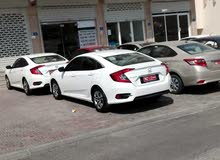 Honda Civic car is available for a Week rent
