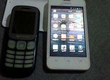 هواوي y320 + هاتف سامسونج
