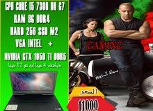 ( جهاز جيمنج) DELL 15 7000 GAMING الجيل السابع 7300 HQ+فيجا 10جيجا DDR5