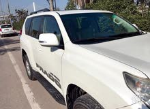White Toyota Prado 2011 for sale