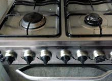 gas stove with ovan