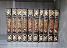 """كتاب """" إحياء علوم الدين """" للغزالي  11 مجلد  جديد وغير مستخدم"""