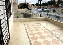 شقة ارضية مفروشة للايجار 3 نوم ضاحية الامير راشد