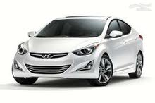 Hyundai Elantra car is available for a Month rent