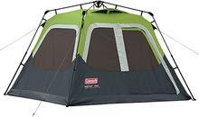 Coleman instant tent cabin 4,6,8 persons خيمة كولمن الأصلية الاتوماتيكيه