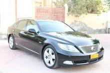 Black Lexus LS 2008 for sale