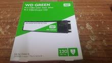 للبيع WD GREEN SSD M.2 120GB جديد