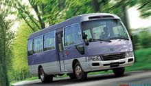 Best rental price for Toyota Coaster 2017
