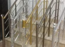 درابزين    شركة مرايا الوالي لصناعة الزجاج والالومنيوم والبي في سي