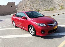 Toyota Corolla car for sale 2012 in Al 'Awabi city