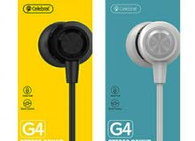 celebrat original wired headset  سماعة سيليبرات الاصلية للهواتف المحمولة