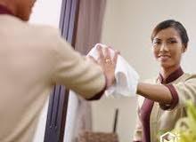 متوفر خادمات بنظام يومي...أسبوعي...شهري