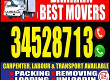 low price house shifting and I have professional carpenter