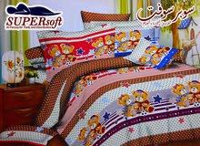 طقم ملاية سرير اطفال على شكل دبدوب
