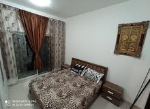 غرفه وصاله مفروشه للايجار الشهري في عجمان بأبراج السيتي تاور