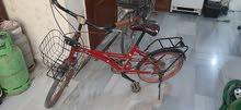 دراجة هوائية نصف كهرباء بحالة جيدة