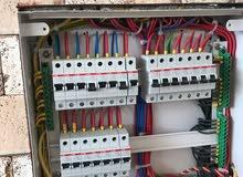 تأسيس كهربائيات عمل درجة اولى بأسعار مناسبة
