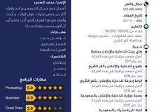 محمد السعيد مصمم جرافيك أبحث عن عمل عن بعد خبره في مجال اكتر من سبع سنوات