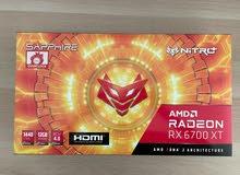 AMD Radeon RX 6700 XT Sapphire Nitro+ 12GB
