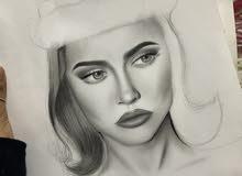 رسام استقبل طلبات رسم داخل الرياض