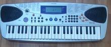 Casio Keyboard with  AC-DC adjustable adaptor