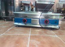 معدات مطاعم متكامل بحالة ممتازة للبيع