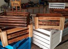 بوكسات خشبية