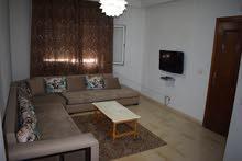 للكراء شقة مؤثثة بحي النصر 2 : صالة وغرفة نوم
