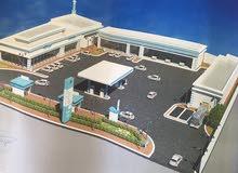 محطة بنزين للايجار في محافظة الافلاج مساحتها 5000م