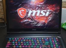 لابتوب جيمنج MSI GL73 9SDK استعمال 7 شهور