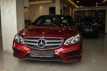 Mercedes E200 2014 لون مميز جدا