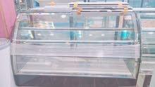 ثلاجة اندى حلويات 1.80متر رخام اسود