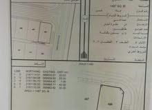 ارض صناعيه مسوره وبها شقه للايجار