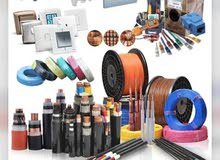Electrical shop with material for sale in Ahmadi industrial area.