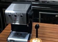 آلة تحضير القهوة الاسبريسو يابانية ضمان سنة و كمية محدودة