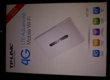 راوترtplink .4جي متنقل مع بطارية 10 ساعات من الاردن.tplink mobile wifi 4g