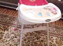 كرسي أكل أطفال متعدد الاستخدامات جديد