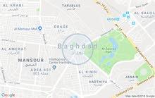 قطعة ارض في حي الامامين مساحة 100 م  في كربلاء