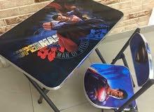 طاوله مع كرسي للاطفال