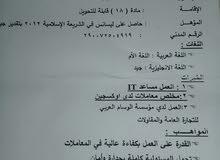شاب مصري مؤهل جامعي يبحث عن عمل