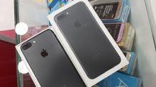 Iphone 7+ 32 مستعمل وكالة كامل اغراضه مكفول 6 اشهر بسعر ناااارر
