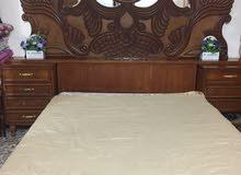 غرفه نوم صاج داخل وخارج للبيع السعر 900 وبيهه مجال