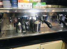 معدات مقهي للبيع